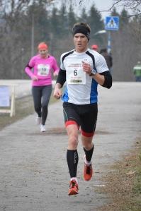 Johan Tärnhuvud, farthållare 10 km - 40 min